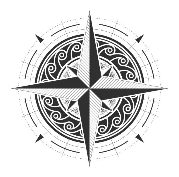 Best North Star Illustrations, Royalty-Free Vector