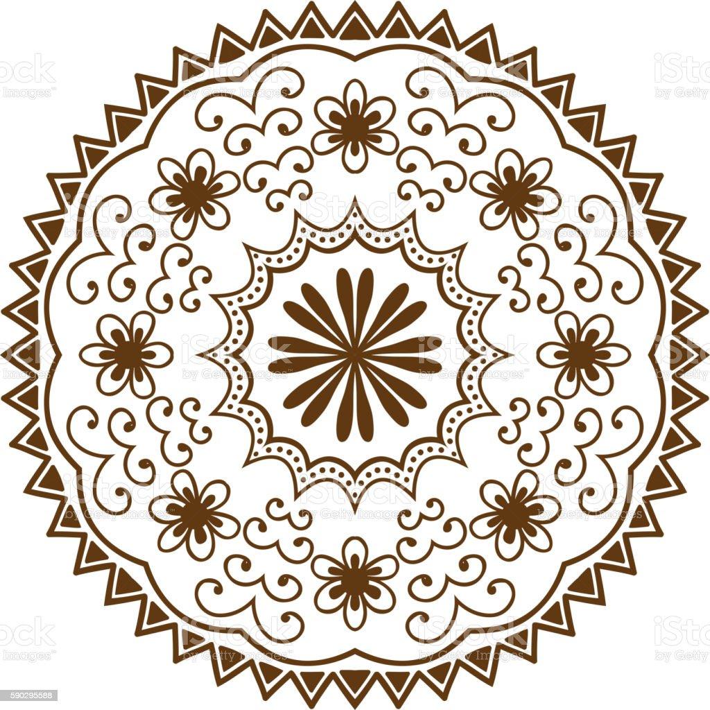 Mandala pattern vector royaltyfri mandala pattern vector-vektorgrafik och fler bilder på abstrakt