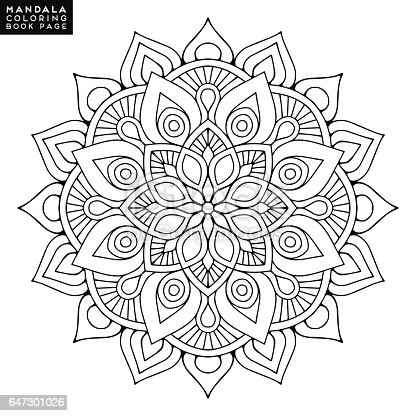 Mandala Rond Design