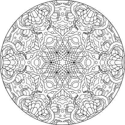 Mandala Sea Bouquet