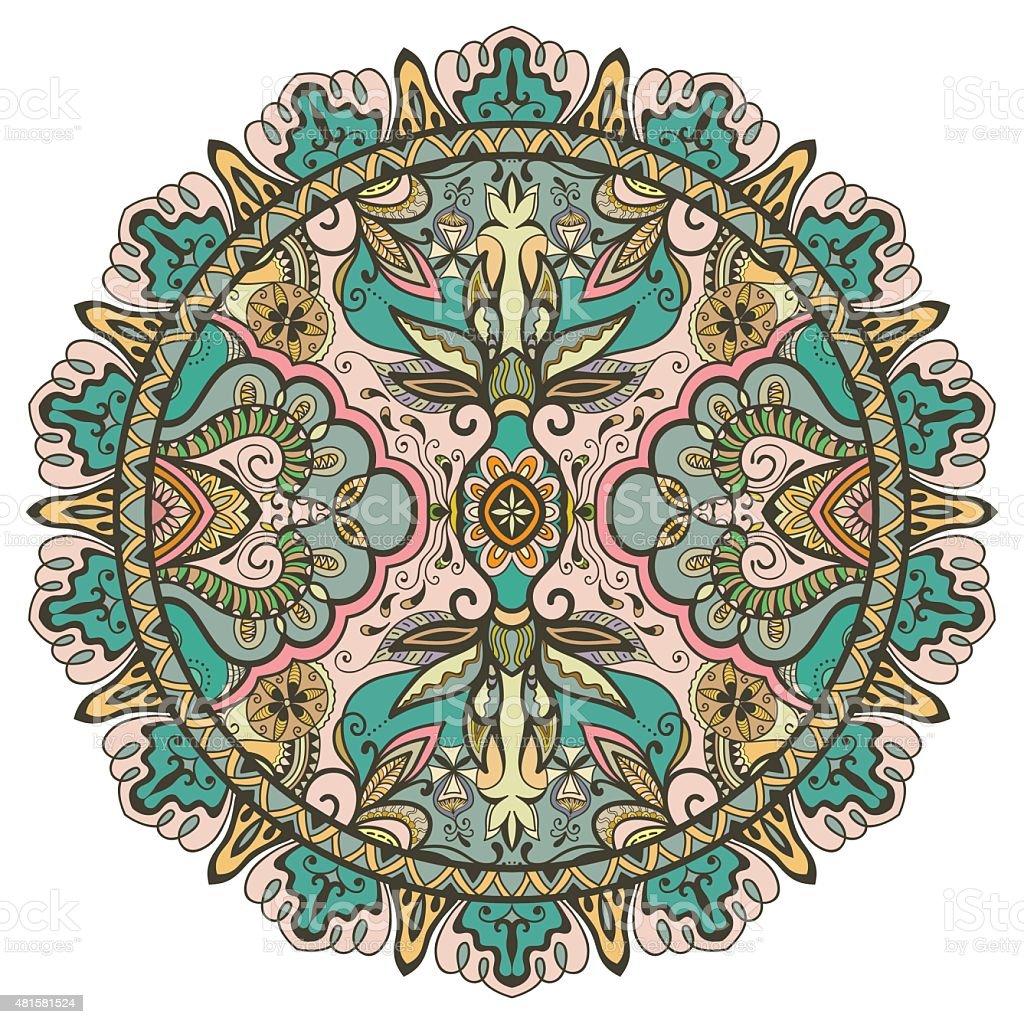 mandala tribal ethnic ornament vector islamic arabic indian pattern royalty free mandala tribal