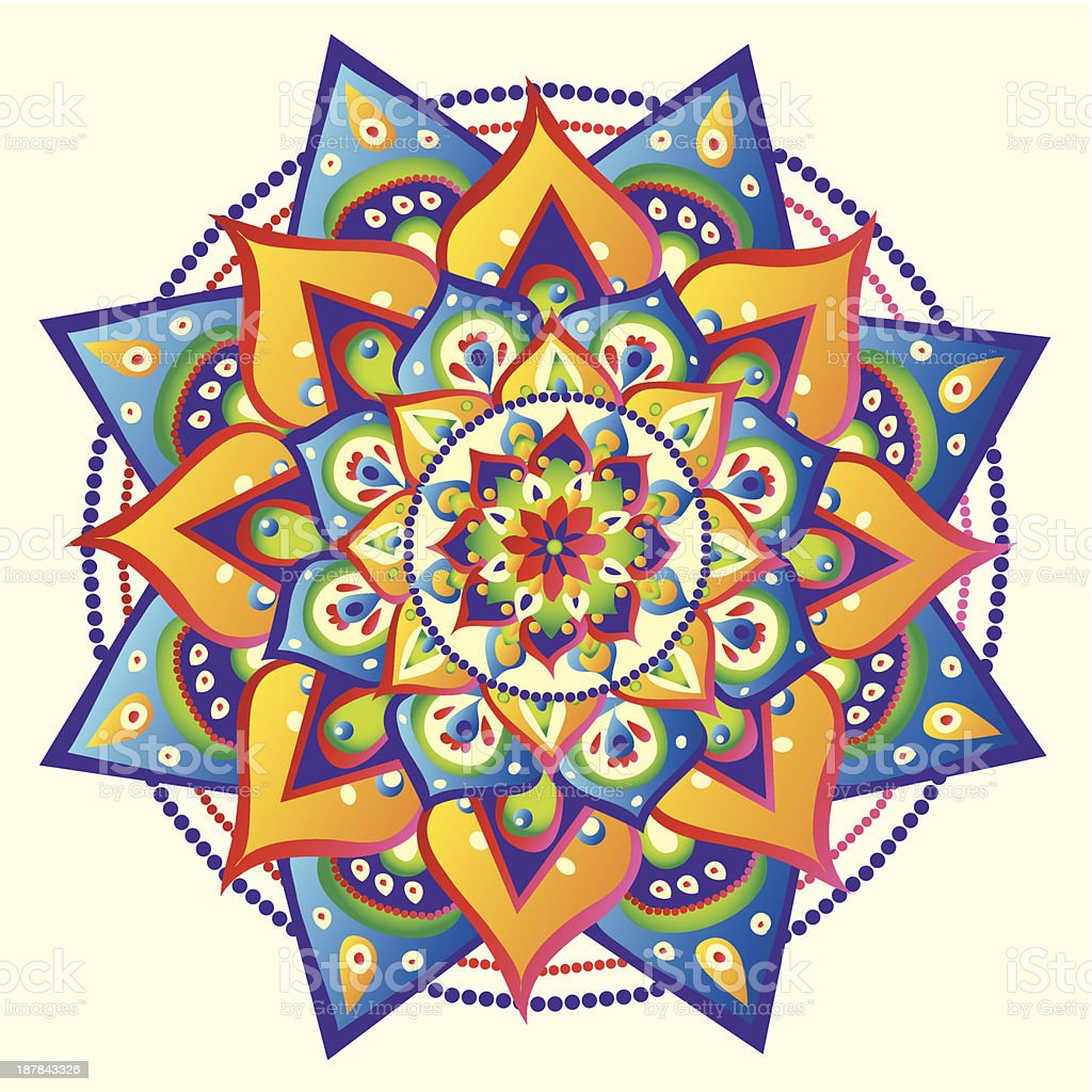 Mandala royalty-free mandala stock vector art & more images of asia