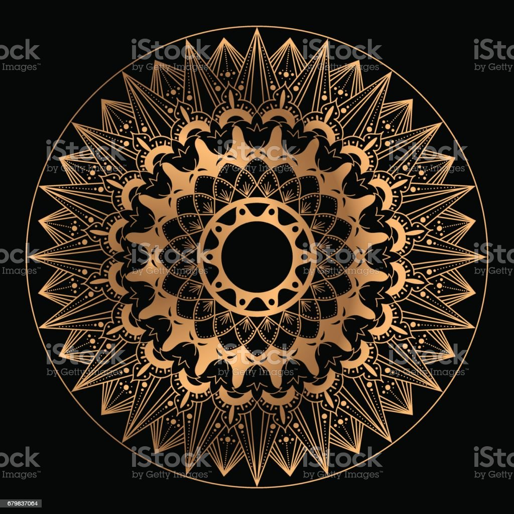 Mandala vector isolated vector art illustration