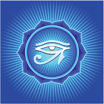 Mandala with Horus Eye