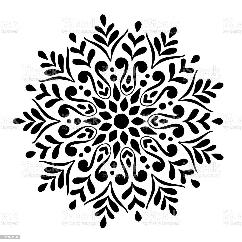 orientalische muster zeichnen