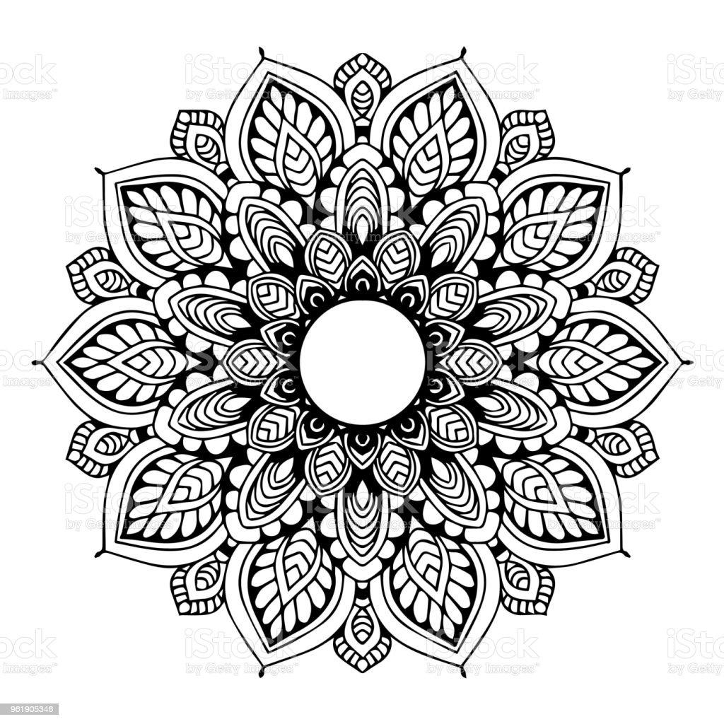 Mandalas Untuk Mewarnai Buku Ornamen Bulat Dekoratif Bentuk Bunga Yang Tidak Biasa Vektor Oriental Pola Terapi Antistres Menenun Elemen Desain Logo Yoga Vector Ilustrasi Stok Unduh Gambar Sekarang Istock
