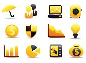 Royalty Free Business and Finance Icons