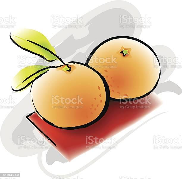 Mandaryn Pomarańcze - Stockowe grafiki wektorowe i więcej obrazów Azjaci