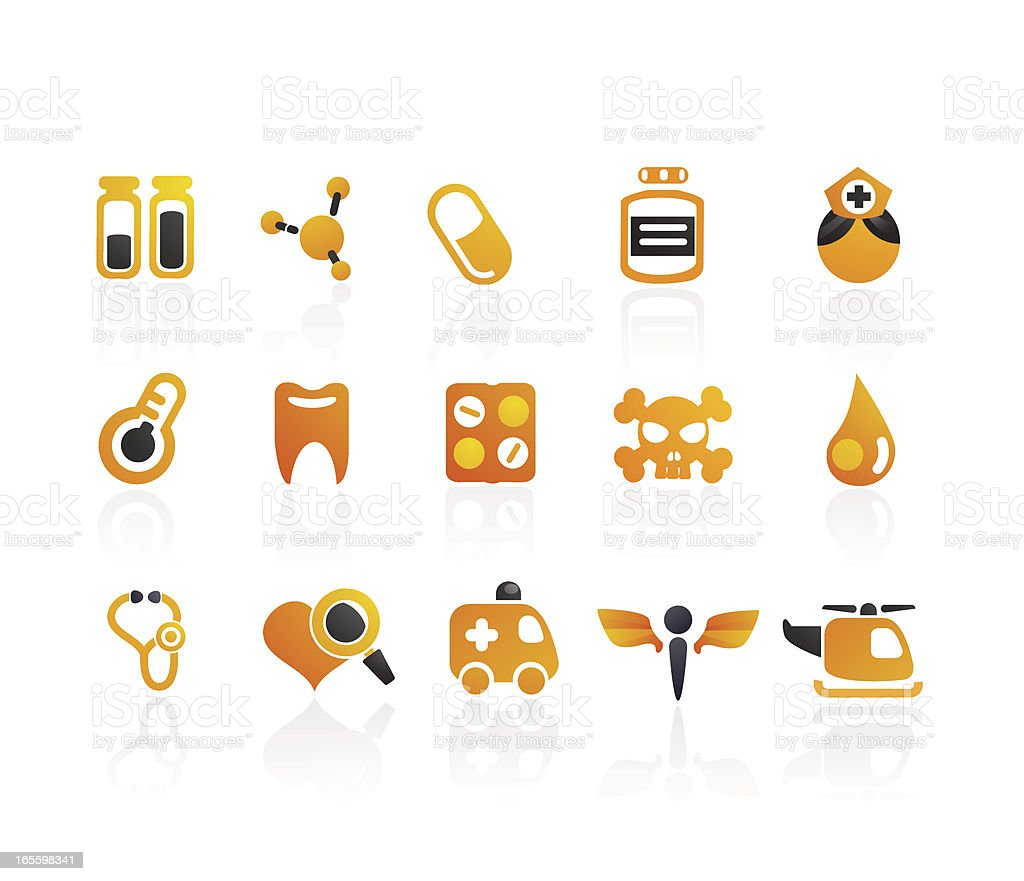 Mandarin Series    Medical Icons 02 royalty-free mandarin series medical icons 02 stock vector art & more images of ambulance