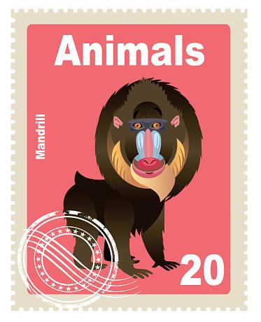 Mandrill Stamp