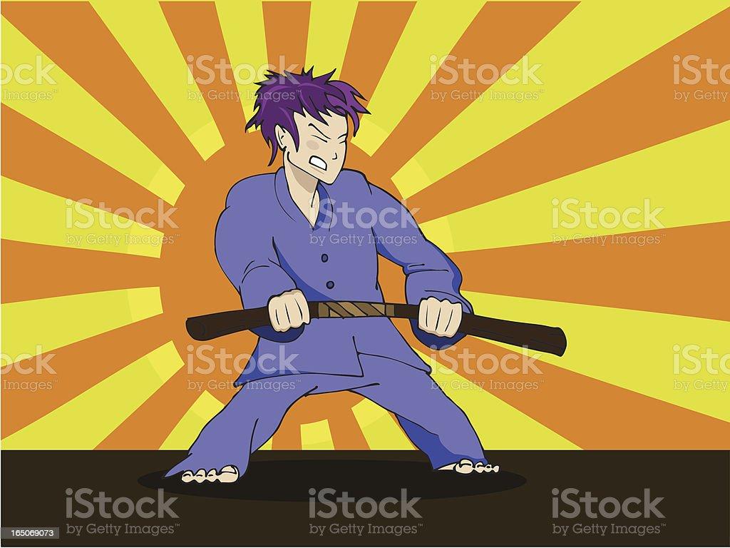 Manga-Kind – Vektorgrafik