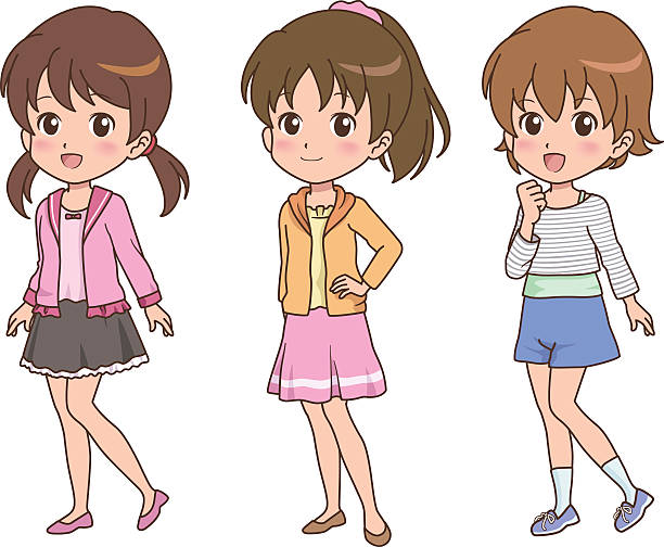 Cute Anime Poses Illustrations Royalty Free Vector Graphics Clip Art Istock