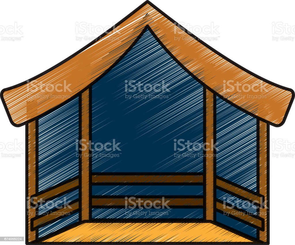 manger stable isolated icon royalty-free manger stable isolated icon stock vector art & more images of agriculture