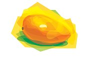 Vector drawing fruit illustrations, the file format for EPS10.0, a fully editable.