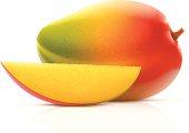 Vector illustration of mango fruit.