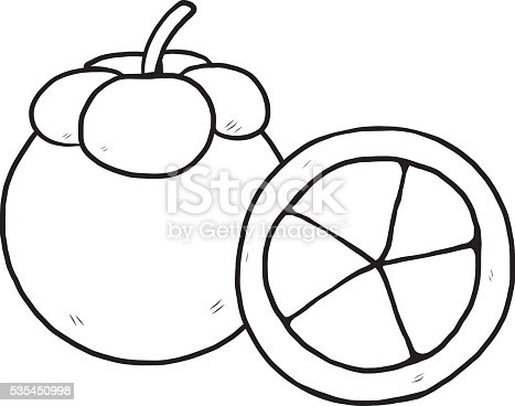 mangosteen coloring pages - photo#21
