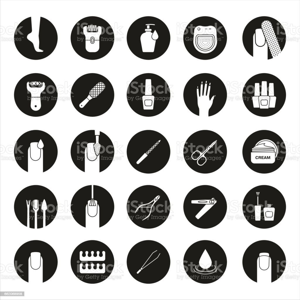 royalty free pedicure clip art vector images