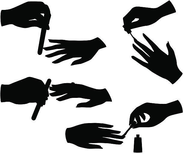 royalty free nail file clip art vector images