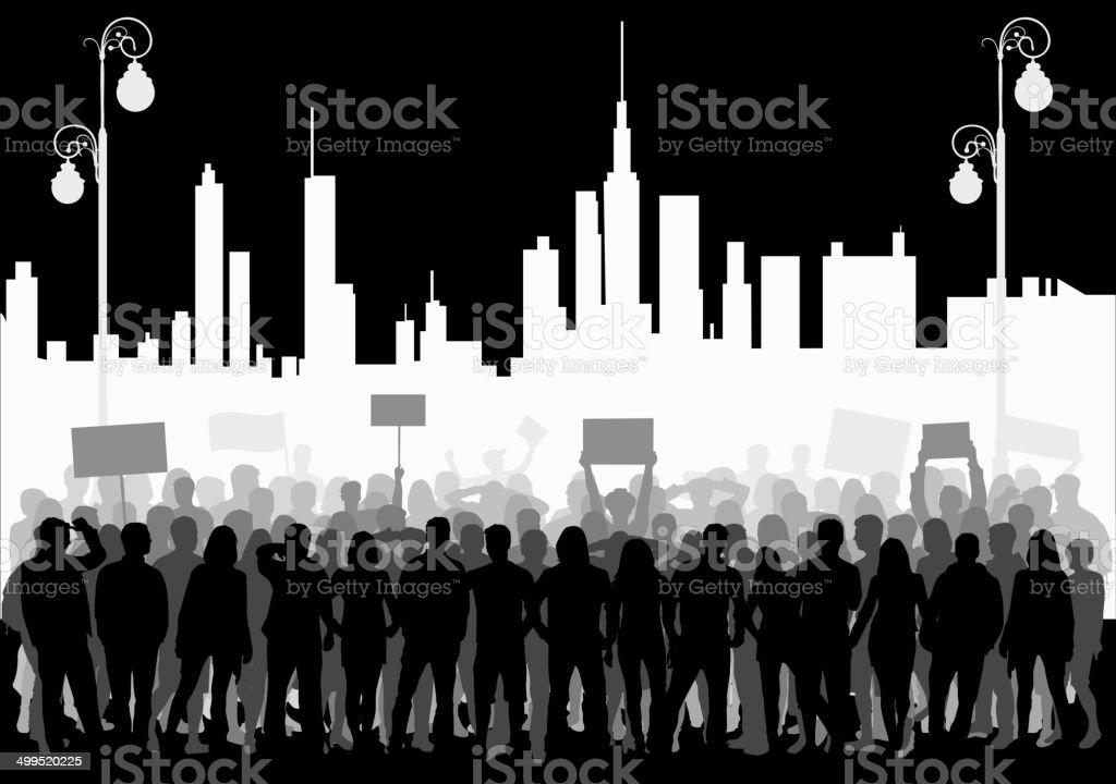 manifestation vector art illustration
