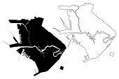 istock Manila City map 1250677495