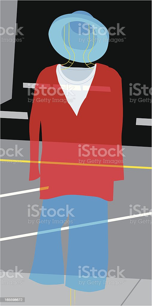 S Mannequin ilustración de s mannequin y más banco de imágenes de acera libre de derechos