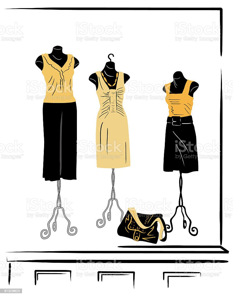 Mannequins - Butter royalty-free mannequins butter stock vector art & more images of back lit