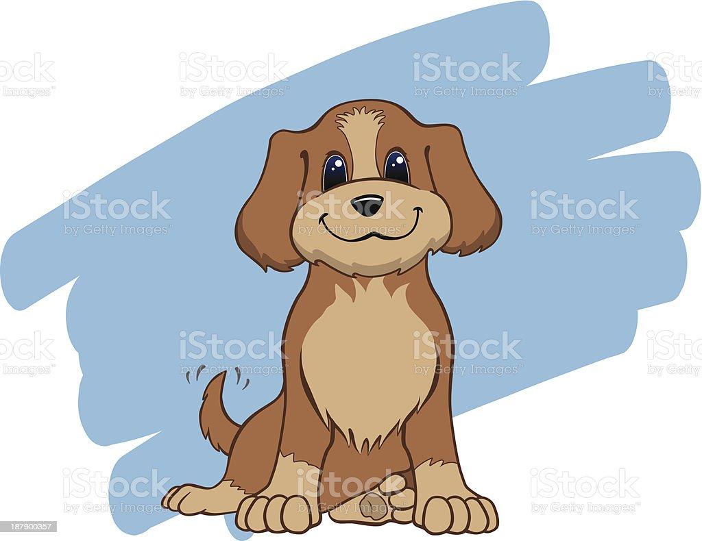 Man's Best Friend vector art illustration