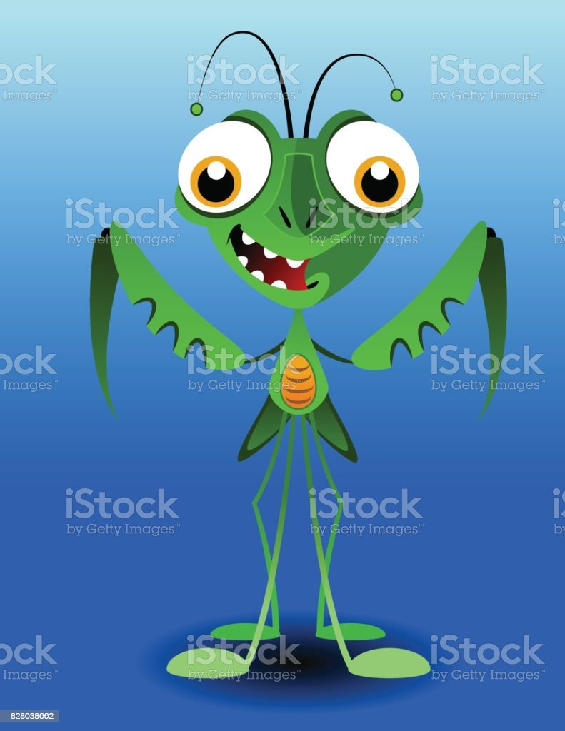 Mantis royalty-free mantis stock vector art & more images of green color