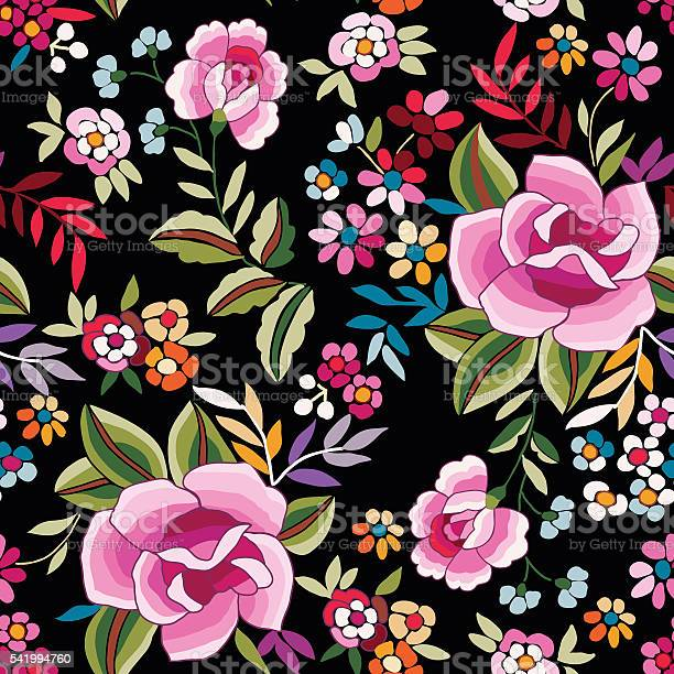 Manton shawl spanish floral print seamless background vector id541994760?b=1&k=6&m=541994760&s=612x612&h=hd6megdjy93ztonvdwciwdu4vnhsg1ektp1mqogehwk=