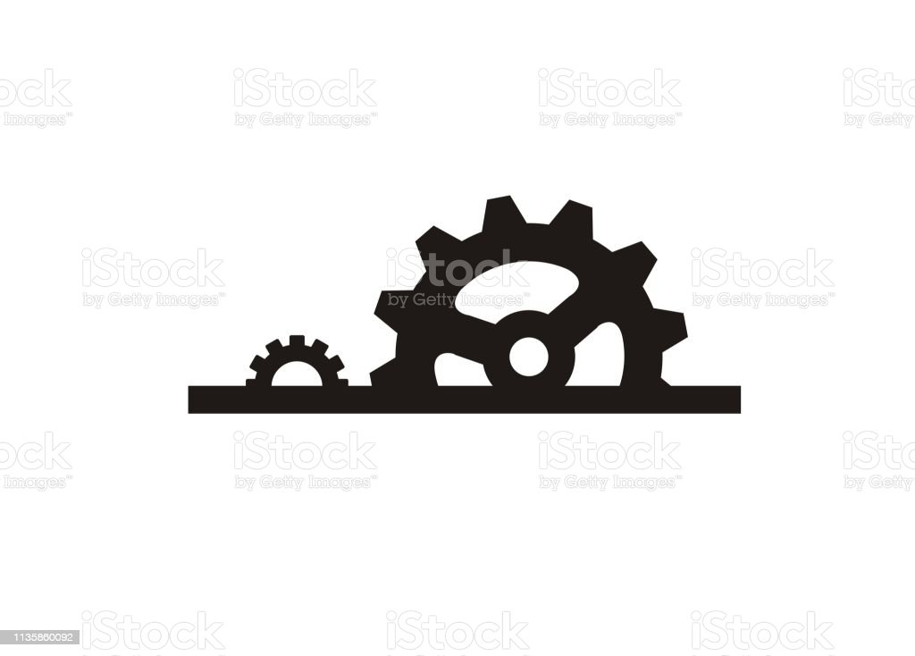 Manufacture Machinery Simple Icon Stock Vector Art More Images Of