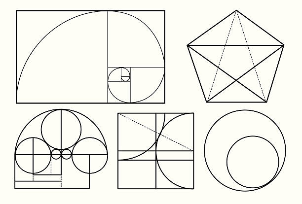 many golden ratio compositions - golden ratio 幅插畫檔、美工圖案、卡通及圖標