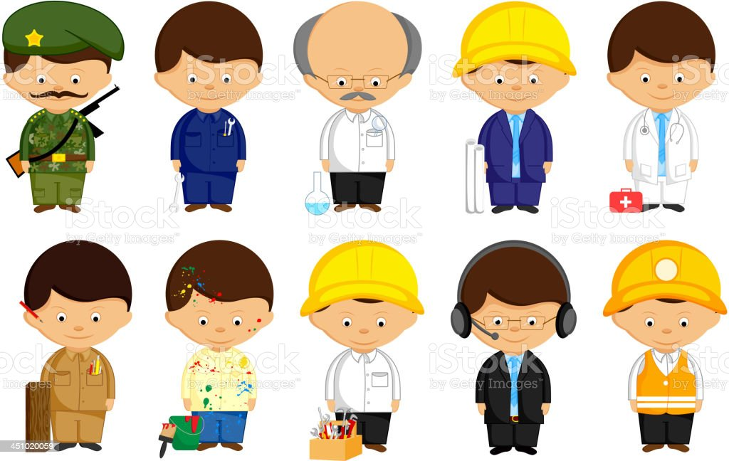 Many Professional royalty-free many professional stock vector art & more images of adult