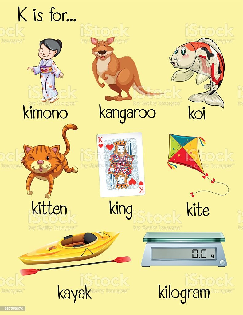 Letter Words Starts With T