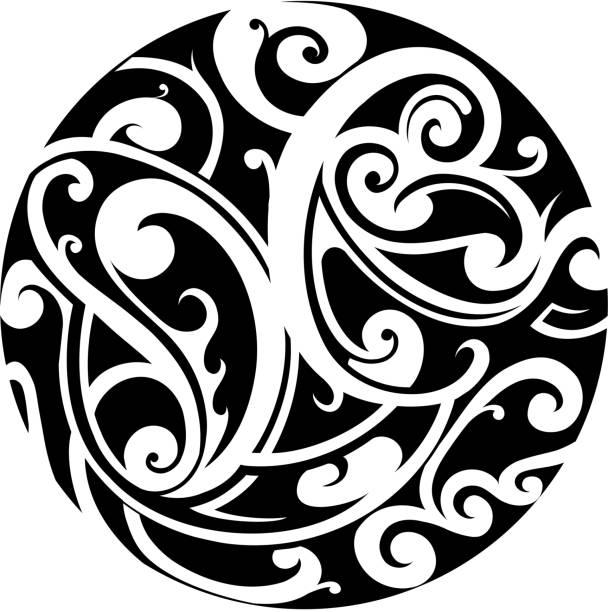 Maori Tattoo Design Stock Photos: Royalty Free Maori Designs Clip Art, Vector Images