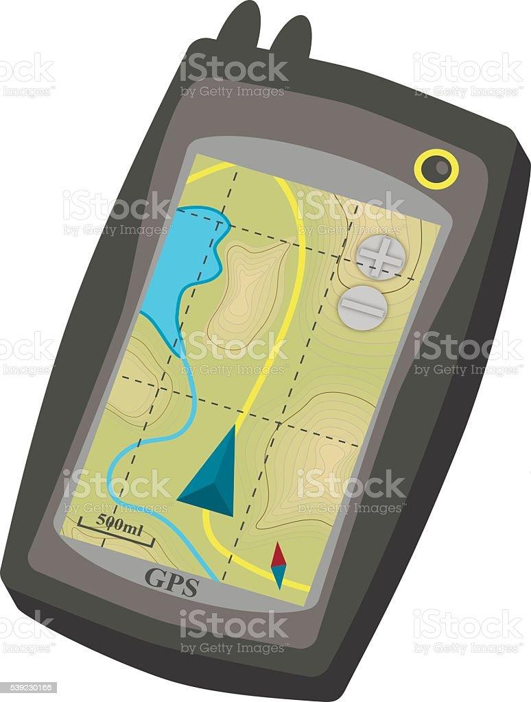 Mapa de excursionismo ilustración de mapa de excursionismo y más banco de imágenes de clip art libre de derechos