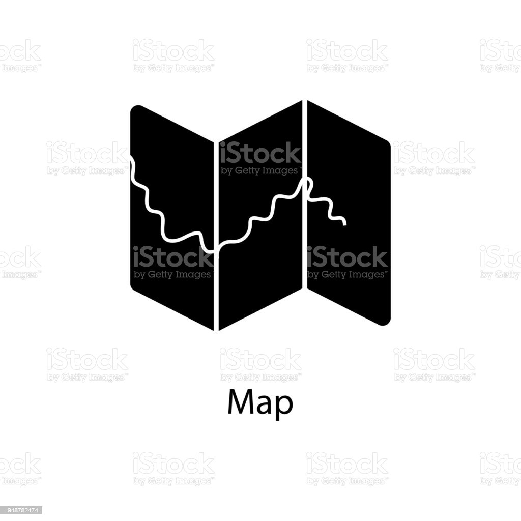 Map Icon Element Of Minimalistic Icon For Mobile Concept And Web
