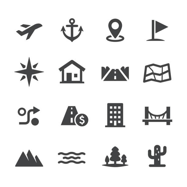 Map Icons - Acme Series vector art illustration