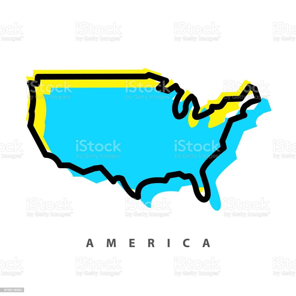 map illustration vector art illustration