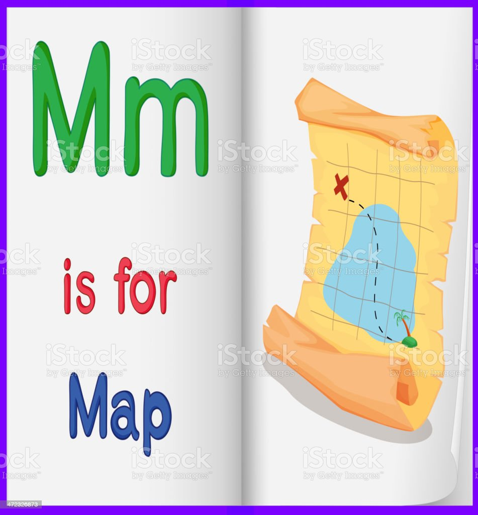 Map in a book royalty-free map in a book stock vector art & more images of adventure