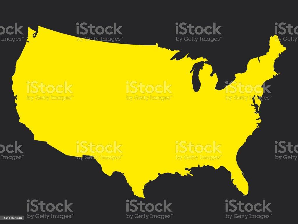 Utah In Usa Map.Usa Map In State Colors Of Utah Stock Vector Art More Images Of