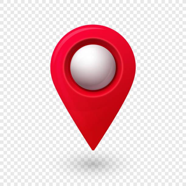ilustrações de stock, clip art, desenhos animados e ícones de map location pointer 3d pin with glowing glass bubble - ponto turístico