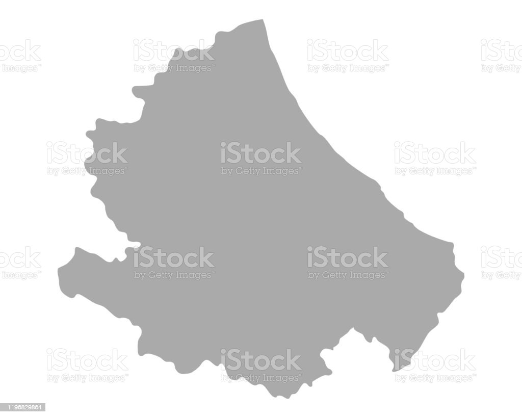 Picture of: Map Of Abruzzo Stock Illustration Download Image Now Istock