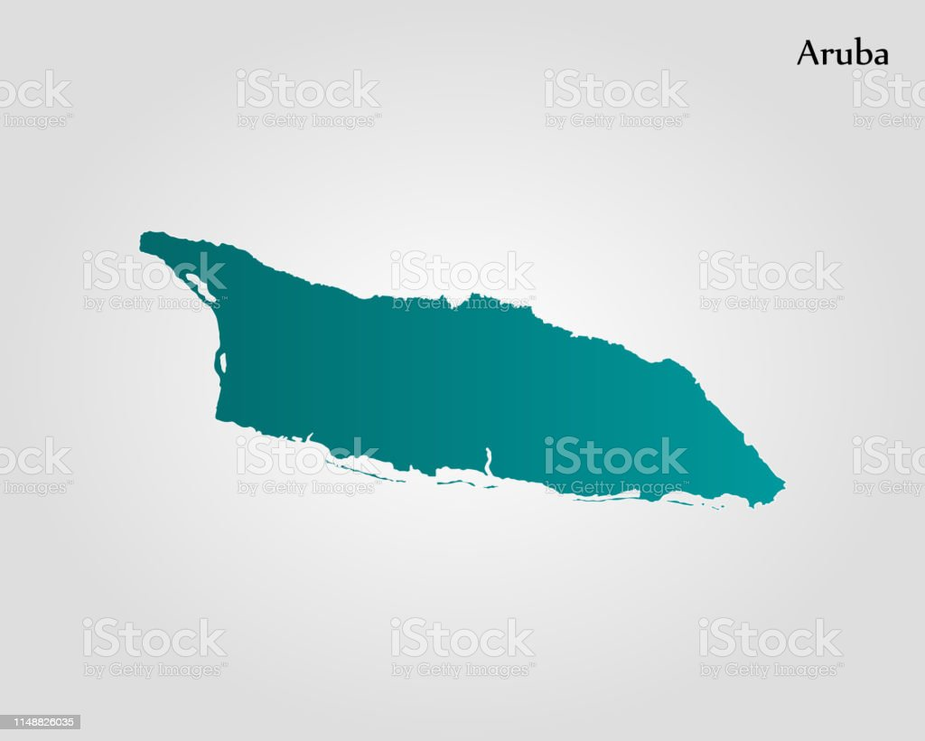 Picture of: Map Of Aruba Stock Illustration Download Image Now Istock