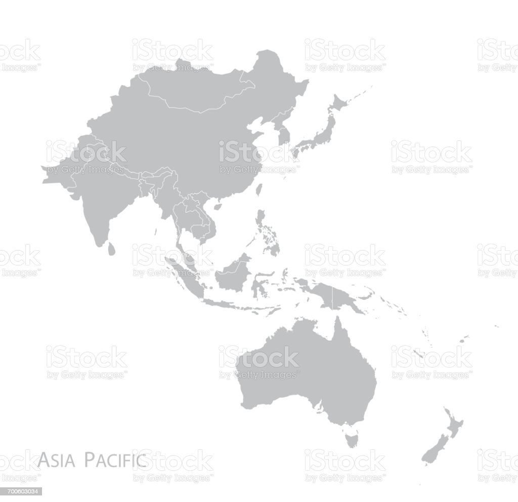 map of asia pacific royalty free map of asia pacific stock vector art