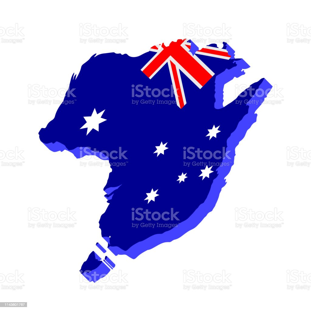 3d Map Of South Australia.3d Map Of Australia Stock Illustration Download Image Now Istock