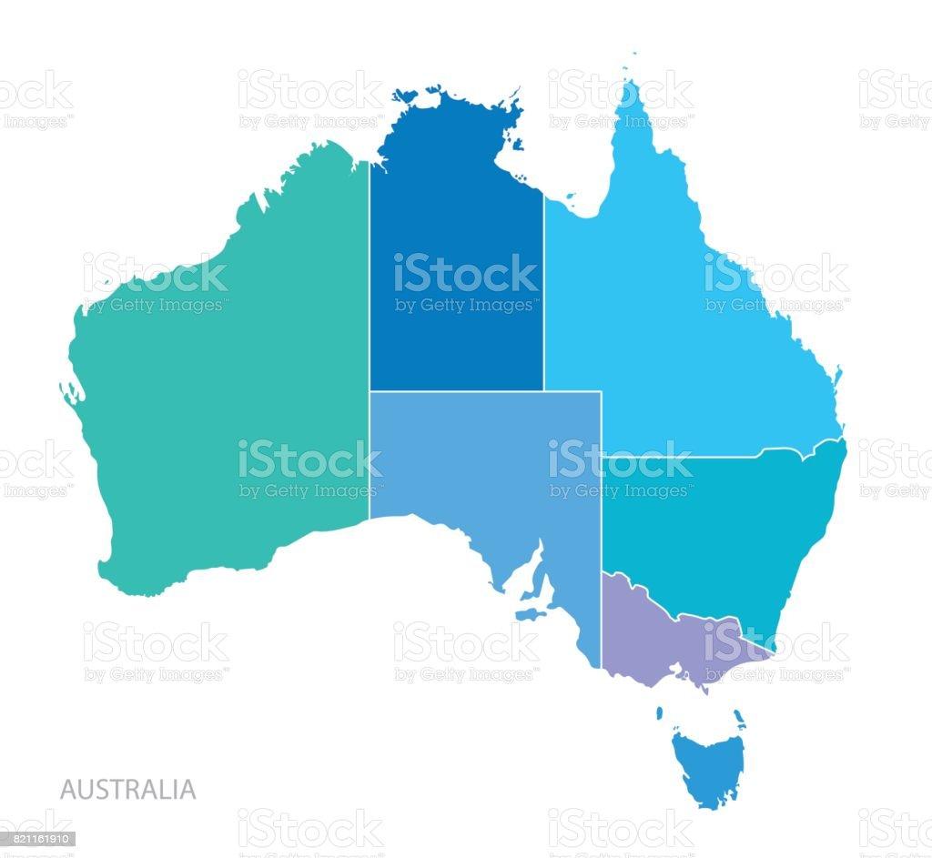 Map Of Australia Download.Map Of Australia Stock Illustration Download Image Now Istock