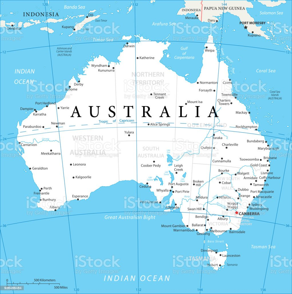 map of australia vector royalty free map of australia vector stock vector art amp