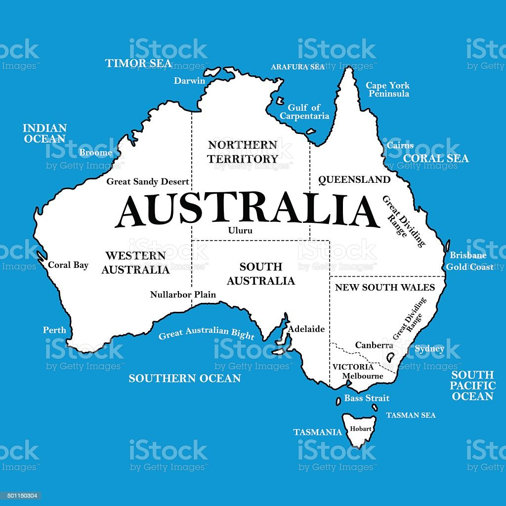World Map Tasmania Australia Image Collections Word Map