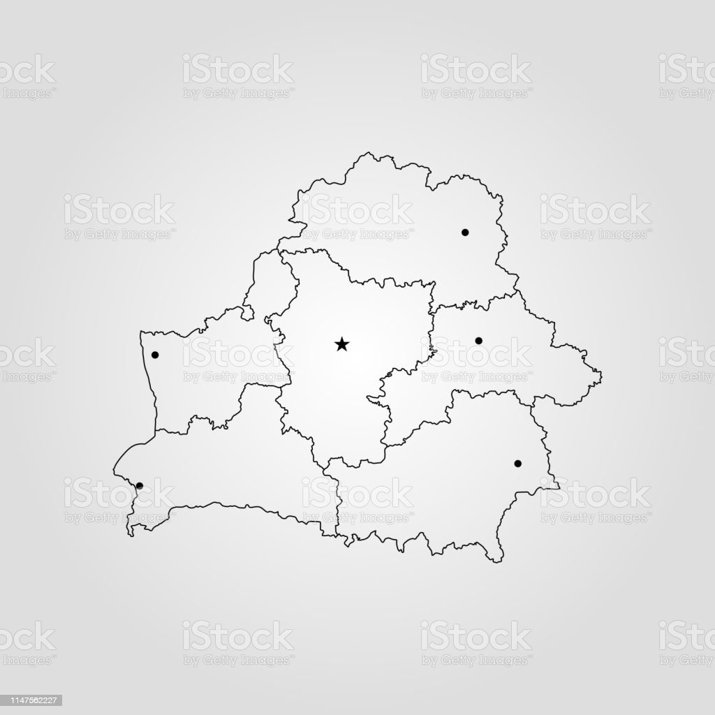 Picture of: Map Of Belarus Stock Illustration Download Image Now Istock