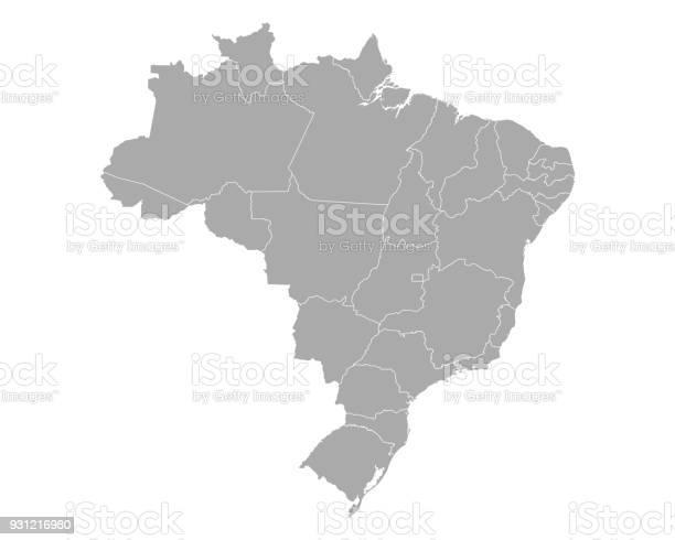 Vetores de Mapa Do Brasil e mais imagens de Alemanha